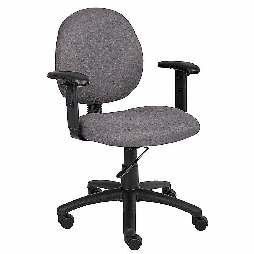 GRAINGER APPROVED Silla p/Escritorio,Ancho Total - Sillas de Oficina ...