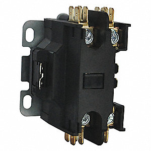 24vac definite purpose contactor; no of poles 1, 25 full load amps inductive2 pole contactor wiring wiring