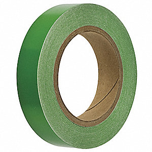 "Banding Tape, Green, Vinyl, 1"" x 90 ft."