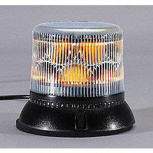Dual Level Strobe,Amber,Permanent,LED