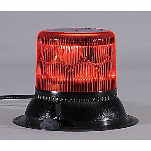 Dual Level Strobe Light,Red,Rotating