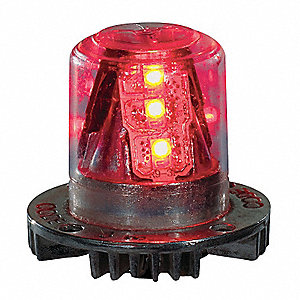 "LED Strobe Light Head, 1"" L, 1-1/2"" W"
