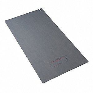 Tacky Mat,Gray,18x45 In,PK4