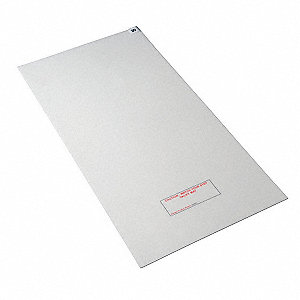 Tacky Mat,White,36 x 60 In,PK4