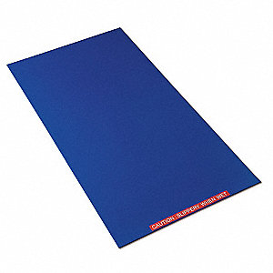 Tacky Mat Base,Blue,26 x 38 In