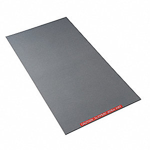 Tacky Mat Base,Gray,38 x 47 In
