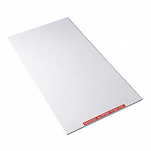 Tacky Mat Base,White,38 x 47 In