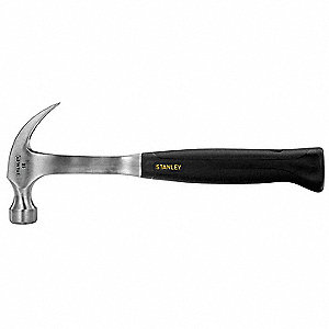 Rip-Claw Hammer,Steel,Smooth,16 Oz