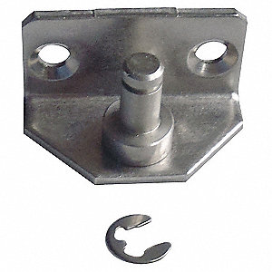 Zinc Plated Steel Bracket 900BA2SB&#x3b; For Use With Hinge Eye