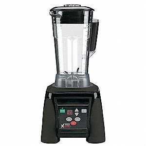64 Oz High Power with Timer Blender, Black