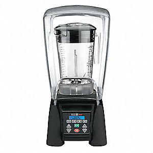 48 Oz High Power, Reprogrammable with Sound Enclosure Blender, Black