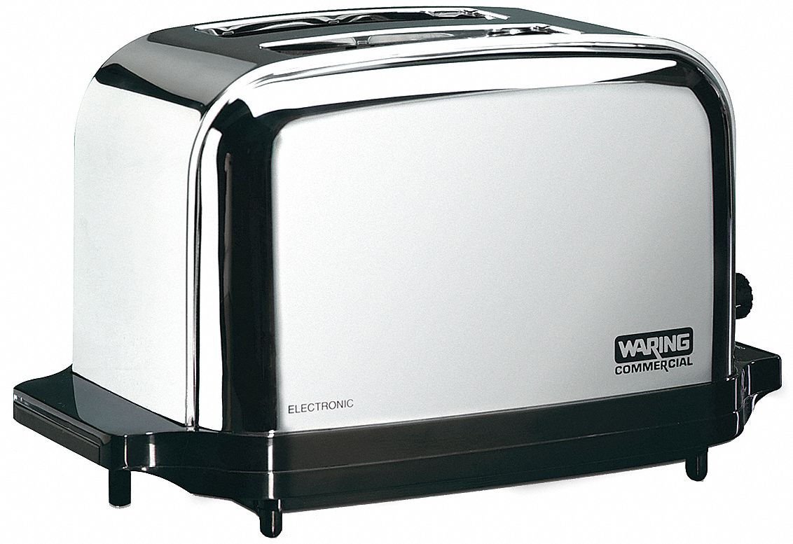 "8 1/4 in"" 2-Slice Light Duty Commercial Toaster"