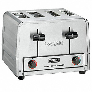 "11.875"" 4-Slice Heavy Duty Combination Commercial Toaster"