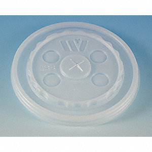 Cold Cup Lid,Button,Straw Slot,PK1000