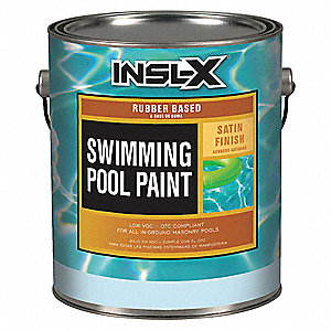 White Paint, Satin Finish, 400 to 500 sq. ft./gal. Coverage, Size: 1 gal.