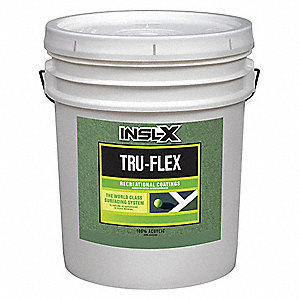 Green Paint, Flat Finish, Diluted 75 sq. ft./gal.; Undiluted 150 sq. ft./gal. Coverage, Size: 5 gal.