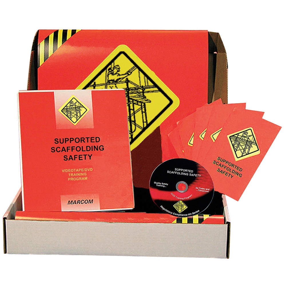 Compliance Training Kit, DVD, Construction Safety, English