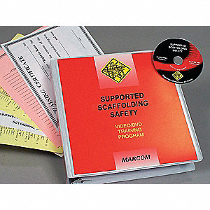 Marcom Supported Scaffolding Safety DVD Program