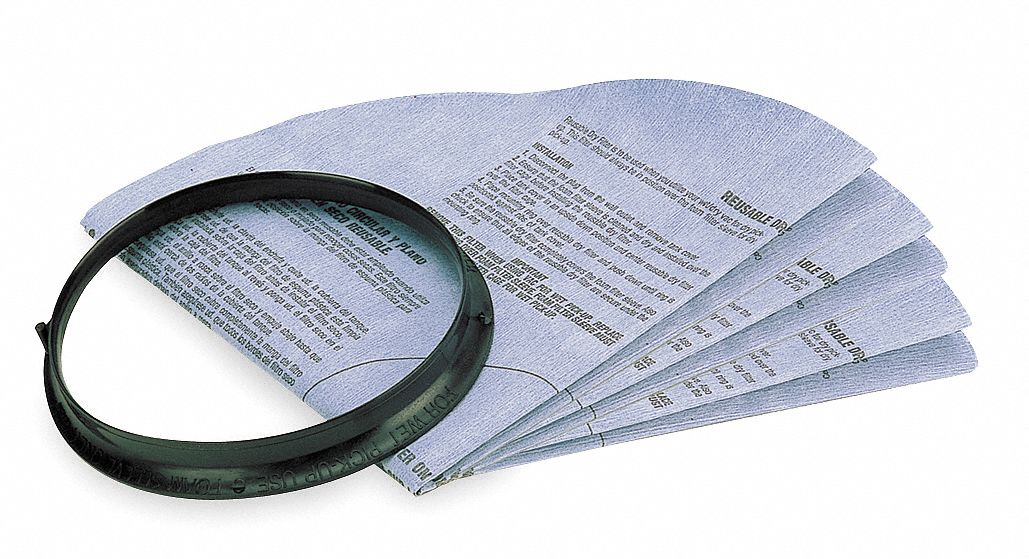 Disc Filter,  Paper,  Standard Filtration Type,  For Vacuum Type Shop Vacuum