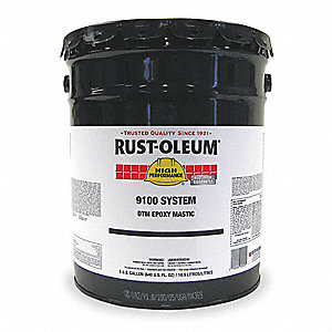 rust oleum 5 gallon yellow paint 6h494 9144300 grainger. Black Bedroom Furniture Sets. Home Design Ideas