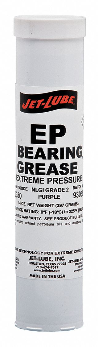 Purple Lithium Bearing Grease, 14 oz, NLGI Grade: 2