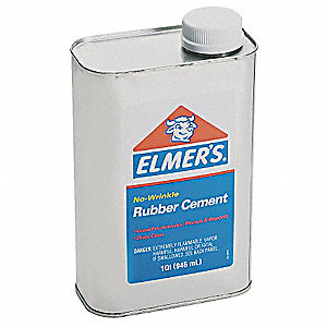 Rubber Cement,1 qt. Can,Opaque