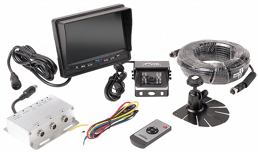 Rear View Camera System, (1) Camera Setup