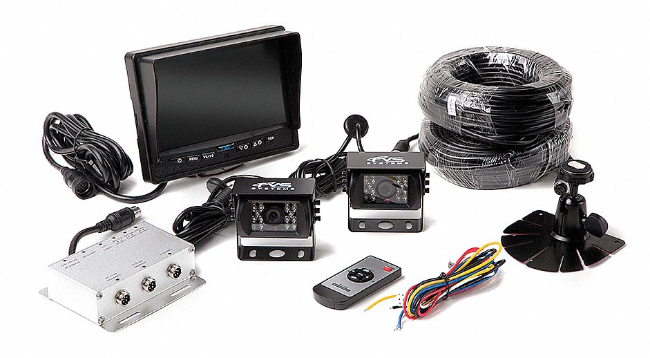 Rear View Camera System, (2) Camera Setup