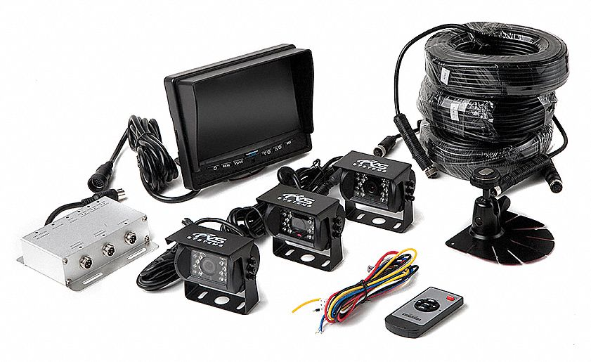 Rear View Camera System, (3) Camera Setup