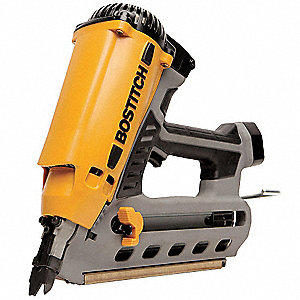 "Cordless Finish Nailer Kit, Voltage 7.2 NiCd, Battery Included, Fastener Range 2"" to 3-1/2"""