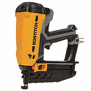 "Cordless Finish Nailer Kit, Voltage 3.6 Li-Ion, Battery Included, Fastener Range 1"" to 2-1/2"""
