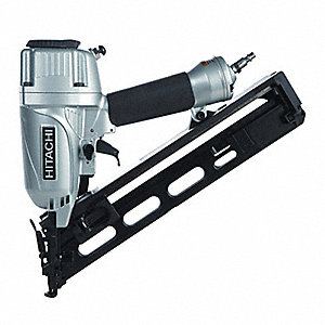 Air Finish Nailer,34 Deg,Adhesive