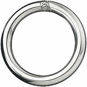Welded Ring,1540 lb.WLL
