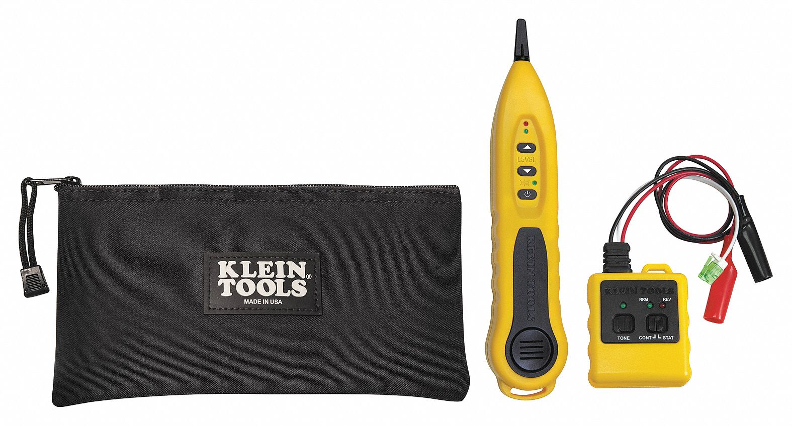 KLEIN TOOLS Tone Generator and Probe Kit Display: LED Adapter Type ...