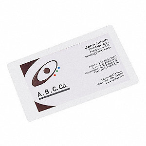 LAMINATING POUCHES,2-1/2X4-1/4IN,PK