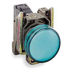 Pilot Light Head,Green,22mm