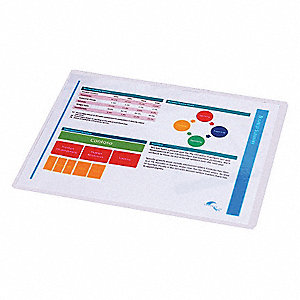HEAT LAMINATING POUCHES,9X11-1/2IN,
