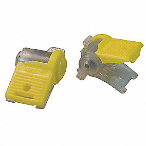 3-Port Moisture Resistant, Pigtail Wire Connector, PK of 2