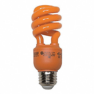 13.0 Watts Screw-In CFL, T3, Medium Screw (E26)