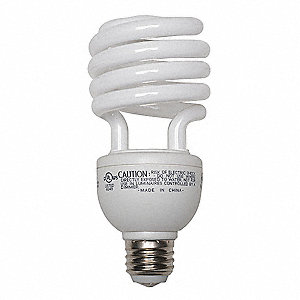 16/25/32 Watts  Screw-In CFL, T3, Medium Screw (E26), 600/1600/2150 Lumens 2700K Bulb Color Temp.