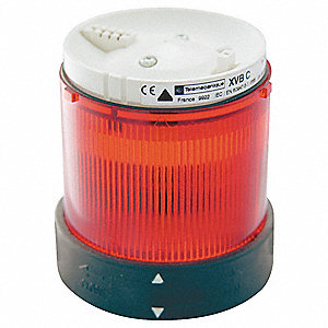 240VAC Incandescent or LED Tower Light Module Steady with 70mm Dia., Red