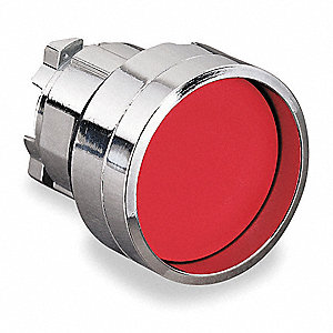 PUSHBUTTON HEAD C/W GUARD RED