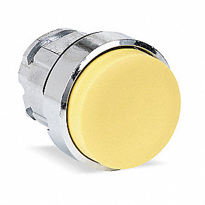 HEAD EXTENDED PUSHBUTTON YELLOW