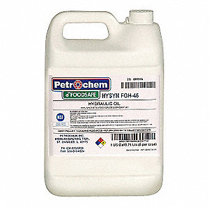 Synthetic Hydraulic Oil, 1 gal. Jug, ISO Viscosity Grade : 46