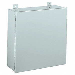 "24.00"" x 24.00"" x 11.00"" Carbon Steel Junction Box Enclosure"
