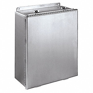 "6.00"" x 4.00"" x 4.00"" 304 Stainless Steel Junction Box Enclosure"
