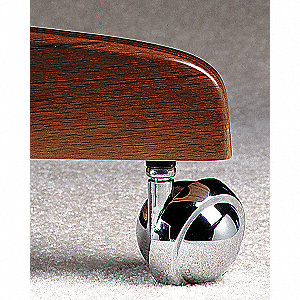 Swivel Stem Caster,2-1/2 In,100 lb,Nylon