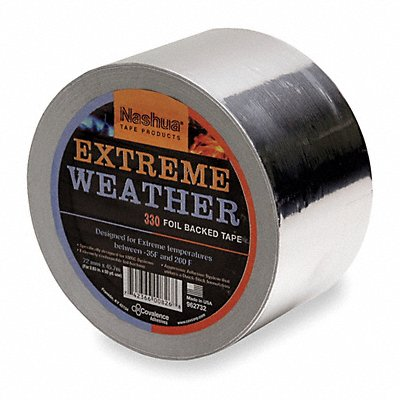 6JD44 - All Weather Foil Tape 48mm x 46m Silver