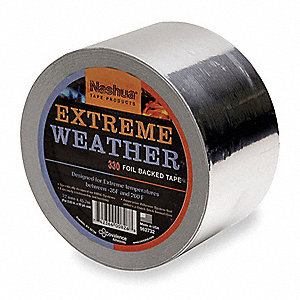 All Weather Foil Tape,72mm x 46m,Silver