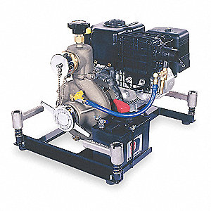 10 HP 305cc High Volume Medium Pressure Fire Pump, Electric & Manual Start